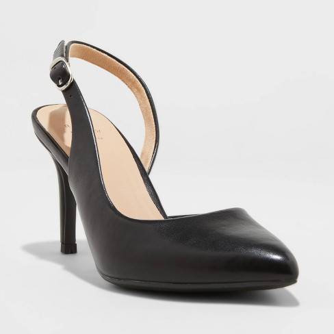 Women's Alma Slingback Heel Pumps - A New Day™ - image 1 of 3