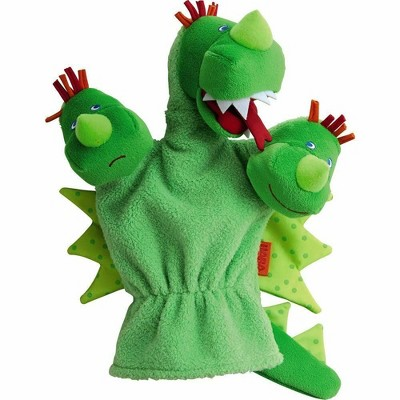 HABA Three Headed Dragon Glove Puppet (Hand Puppet)
