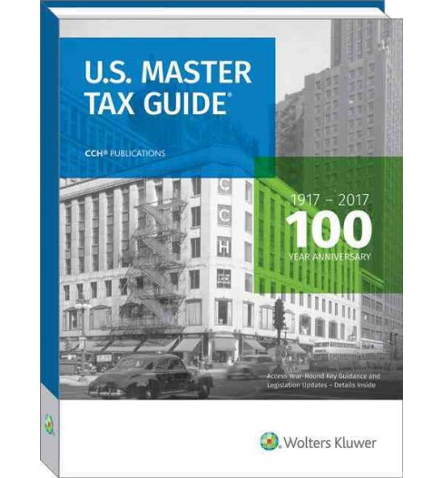 U.S. Master Tax Guide 2017 (Paperback) - image 1 of 1