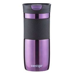 Contigo 16oz SnapSeal Byron Stainless Steel Insulated Travel Mug