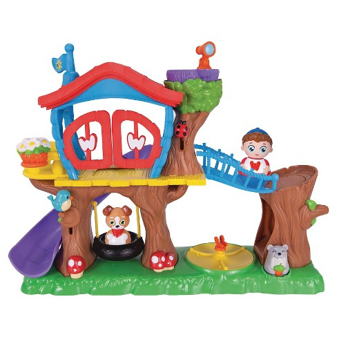 Weebles Deluxe Treehouse Playset - image 1 of 1