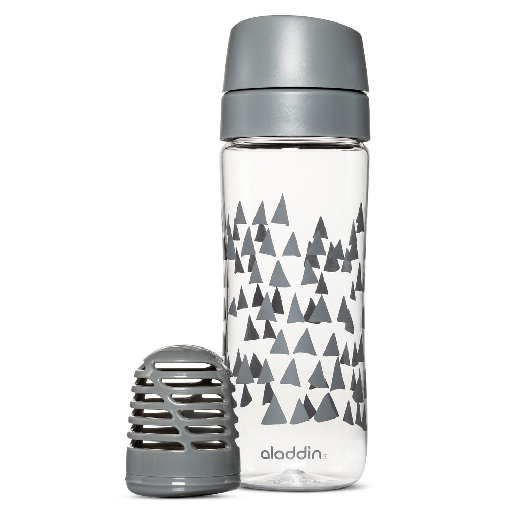 Image of Aladdin 18oz Infuse Water Bottle - Earth Gray