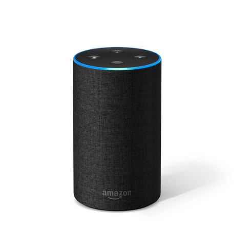 amazon echo 2nd generation alexa enabled bluetooth speaker target. Black Bedroom Furniture Sets. Home Design Ideas