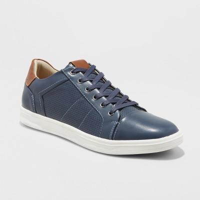 47798828b Mens Eddie Casual Sneakers – Goodfellow   Co™ Navy 13 – Target ...