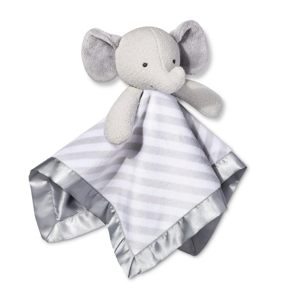 Small Security Blanket Elephant Cloud Island 8482 Gray