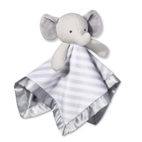 Small Security Blanket Elephant - Cloud Island™  Gray - image 1 of 1