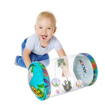 Hoovy Baby Roller inflatable with rattle and lights