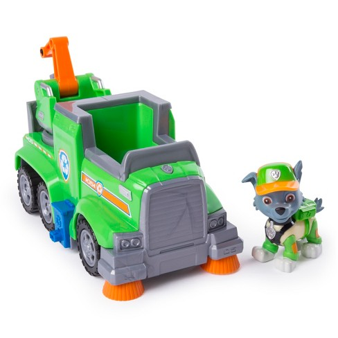 rocky paw patrol  PAW Patrol Ultimate Rescue Rocky Recycle Truck : Target