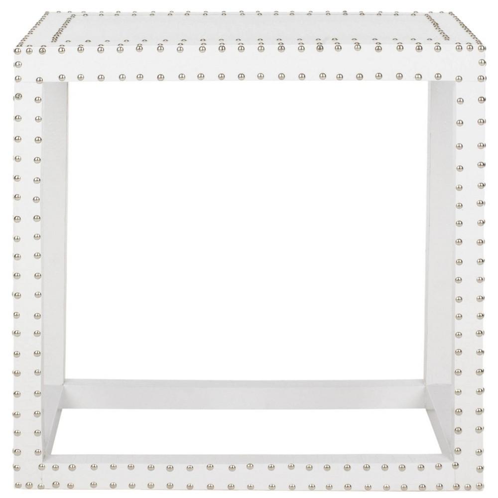 Morgan End Table White - Safavieh