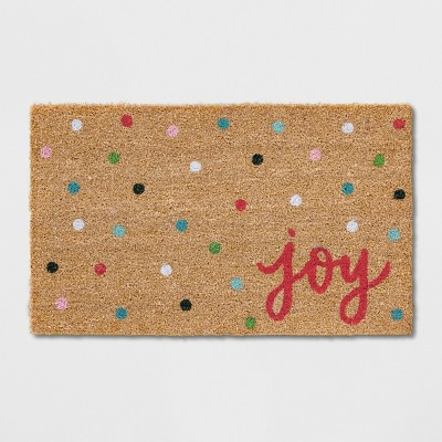 1'6 X2'6  Letters Tufted Doormats Poinsettia - Opalhouse™