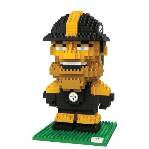 NFL Pittsburgh Steelers BRXLZ Mascot Figure 1000pc - image 1 of 1
