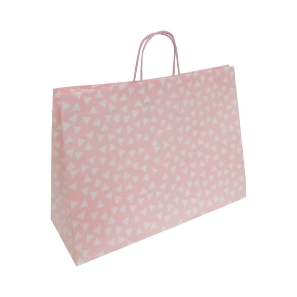 Large Polka Dots Gift Bag Pink Spritz 8482