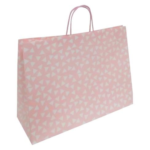 Polka Dots Gift Bag Pink - Spritz™ - image 1 of 1