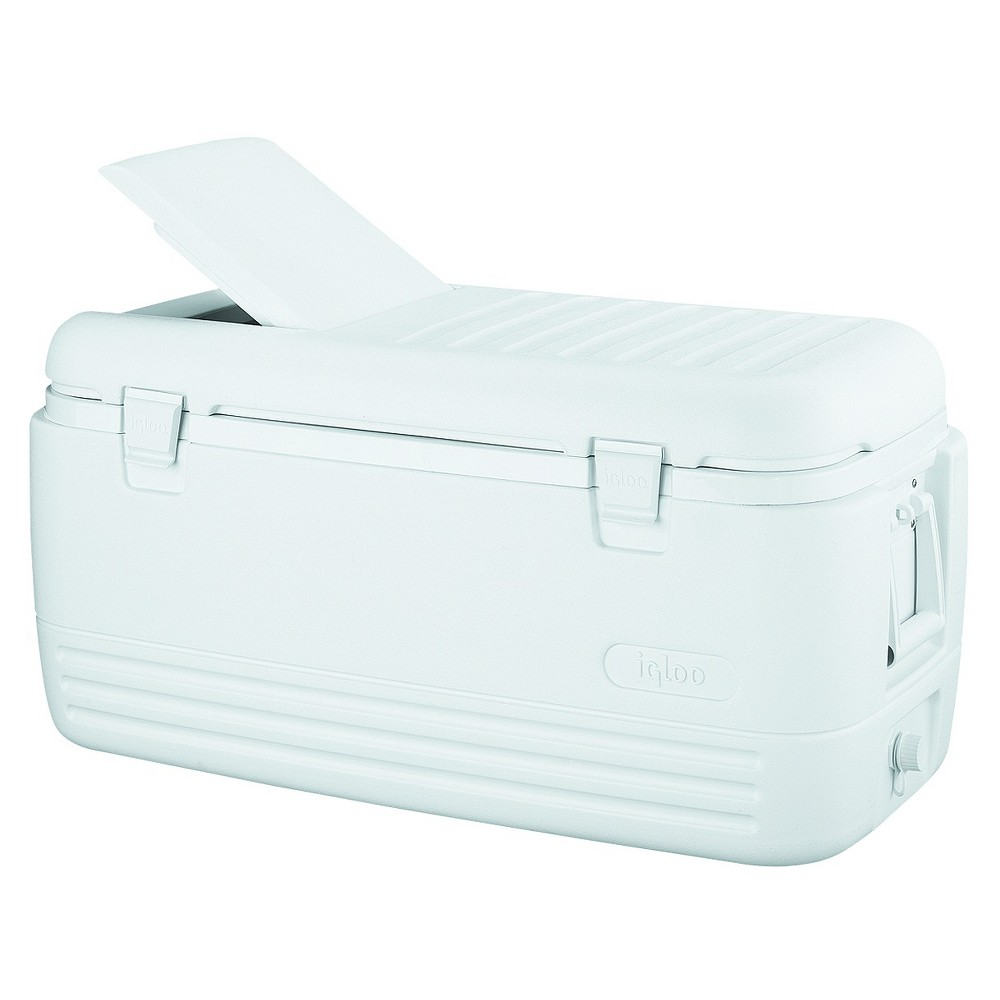 Igloo Quick and Cool 100 Quart Cooler, White