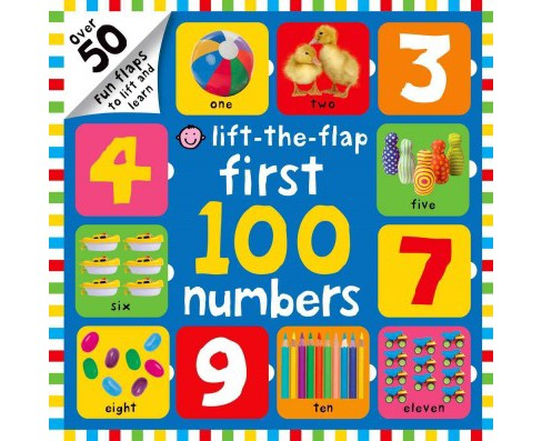 First 100 Numbers (Hardcover) (Natalie Munday) - image 1 of 1