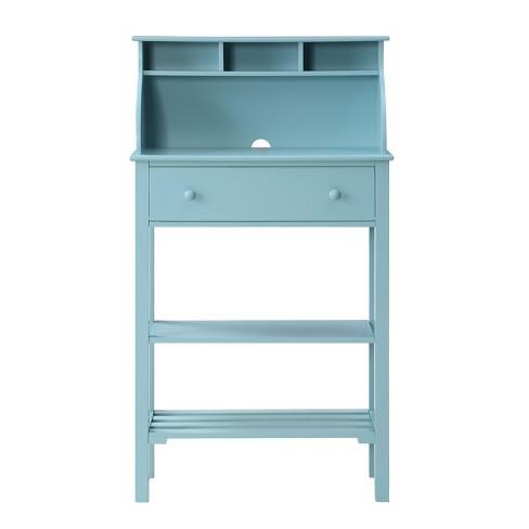 Designs2go Office Kitchen Storage Desk Sea Foam Green Johar Furniture