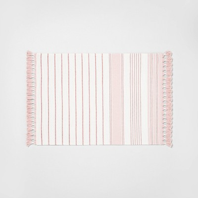 Placemat Light Pink Stripe - Hearth & Hand™ with Magnolia