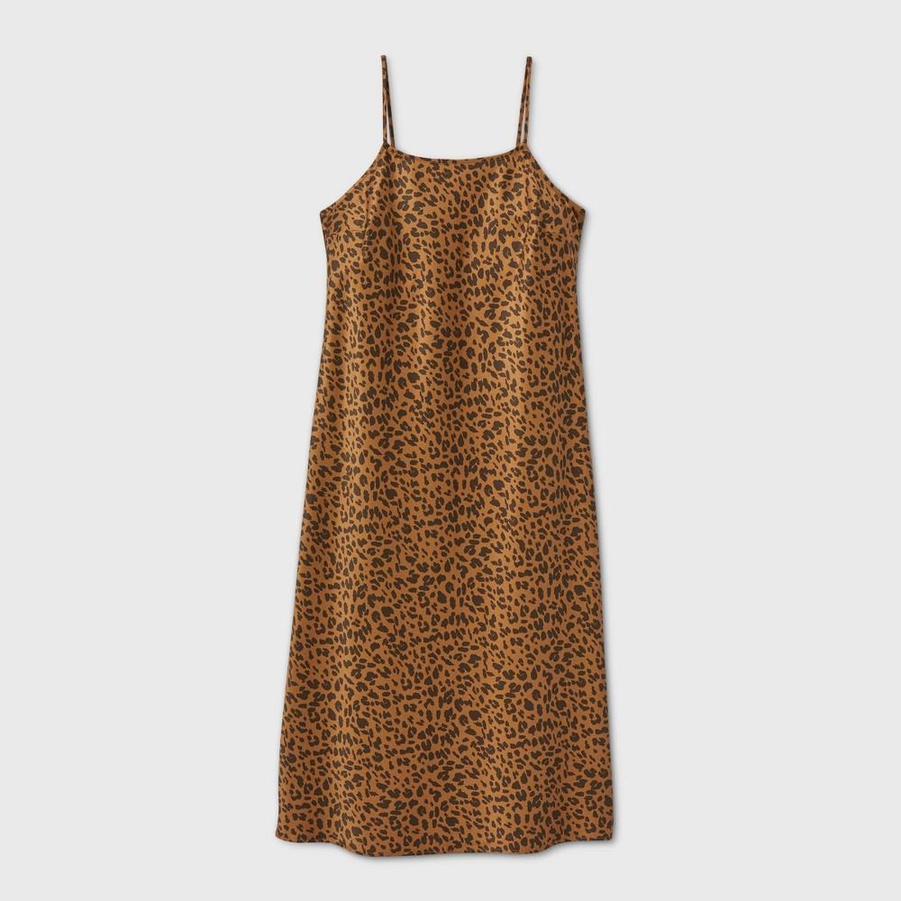 Cheap Women' Leopard Print lip Dre - A New Day™
