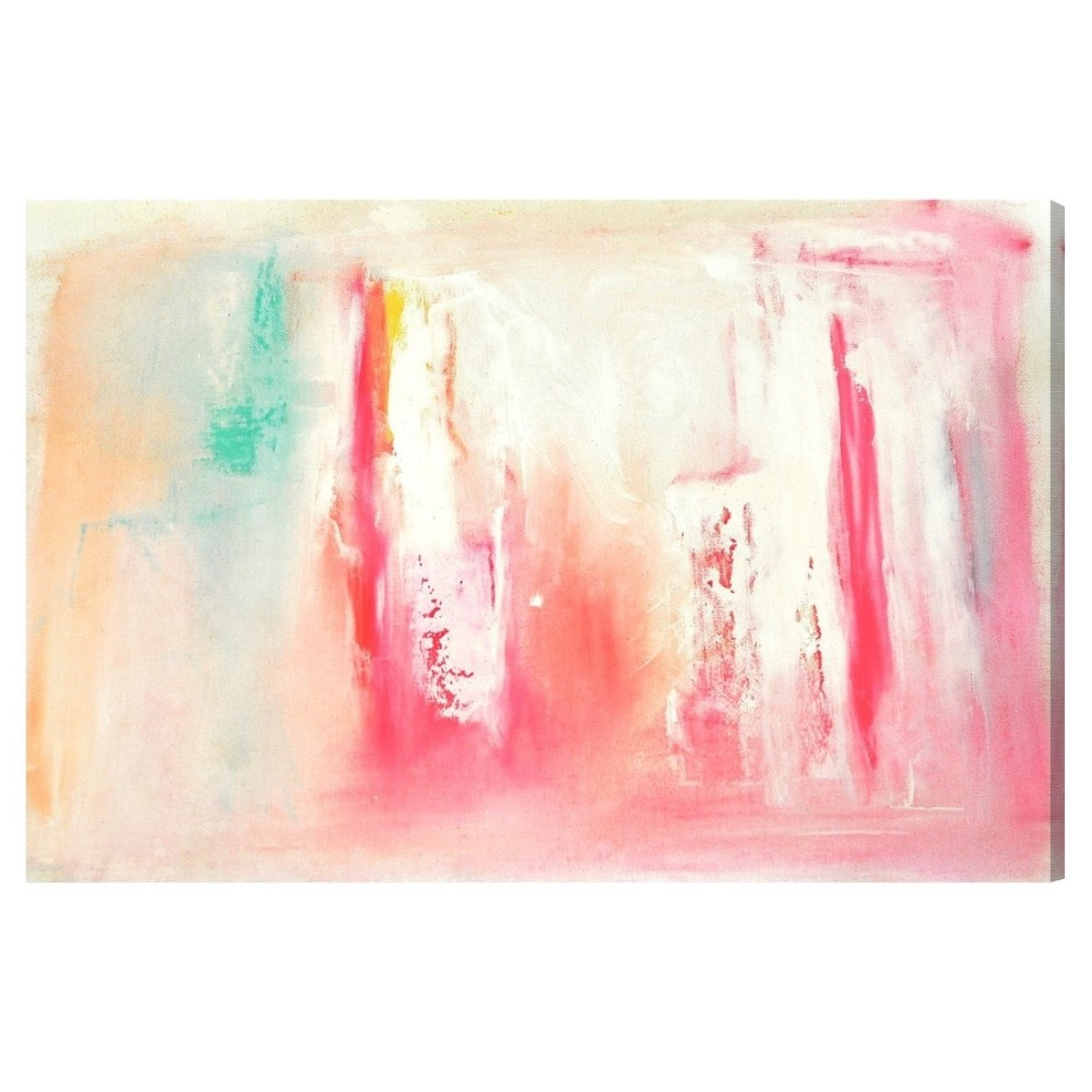 "Image of ""Oliver Gal Unframed Wall """"Dreaming"""" Canvas Art (24x16), Multicolored"""