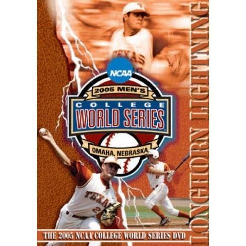 2005 Mens College World Series: Texas vs. Florida (DVD) - image 1 of 1