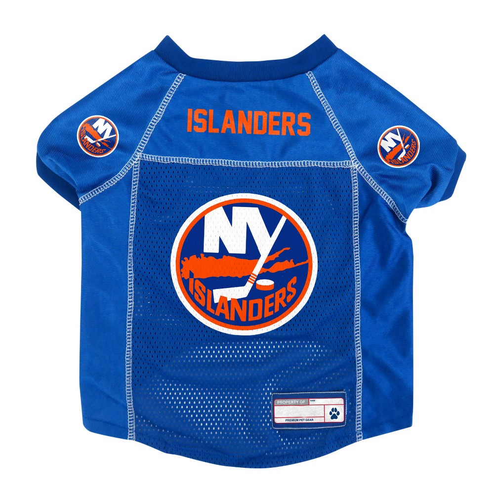 NHL New York Islanders Pet Jersey - XL, Multicolored