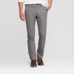 Men's Flannel-Lined Slim Chino Pants - Goodfellow & Co™