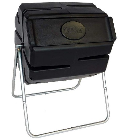 FCMP Outdoor Portable 37 Gallon 1 Piece Tumbling Composter Bin for Soil - image 1 of 4