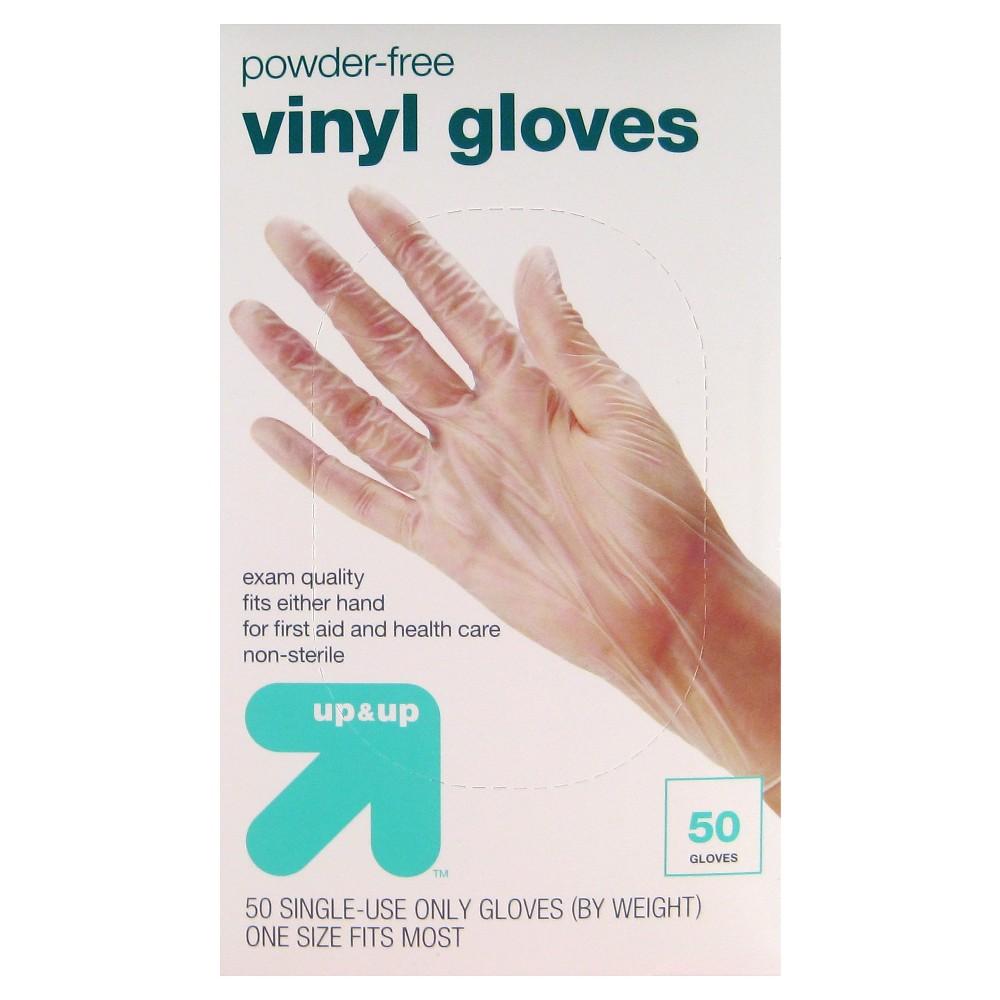 Vinyl Exam Gloves - 50ct - Up&Up