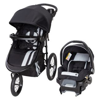 Baby Trend City Scape Jogger Travel System - Sparrow
