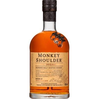 Monkey Shoulder Blended Scotch Whisky - 750ml Bottle