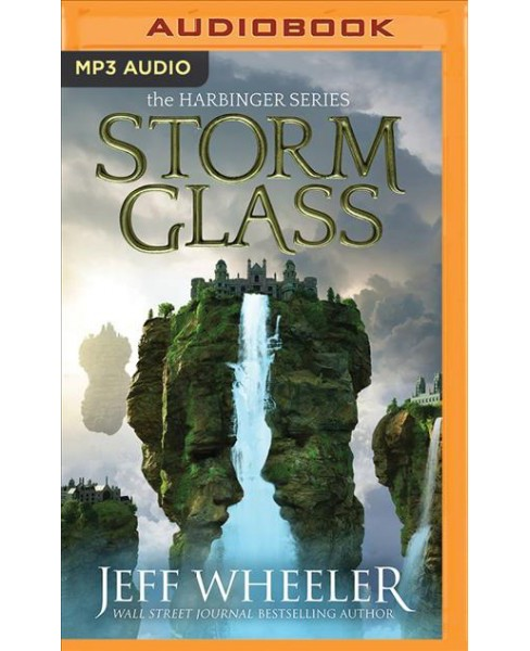 Storm Glass -  (Harbinger) by Jeff Wheeler (MP3-CD) - image 1 of 1
