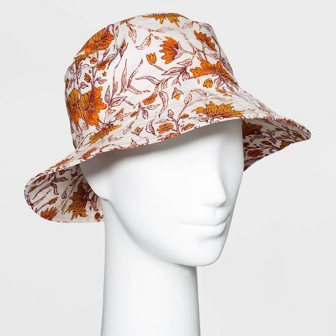 Women's Canvas Bucket Hat - Universal Thread™ - image 1 of 2