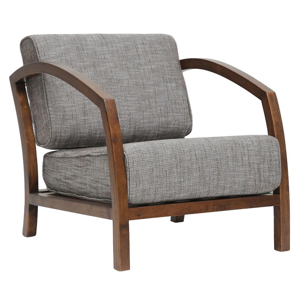 Velda Modern Accent Chair Brown - Baxton Studio