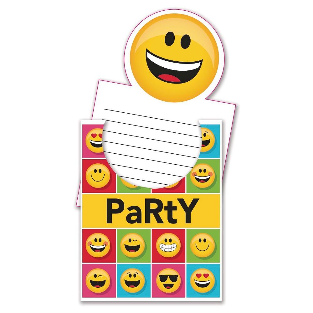 Show Your Emojions Invitations, 8 pk