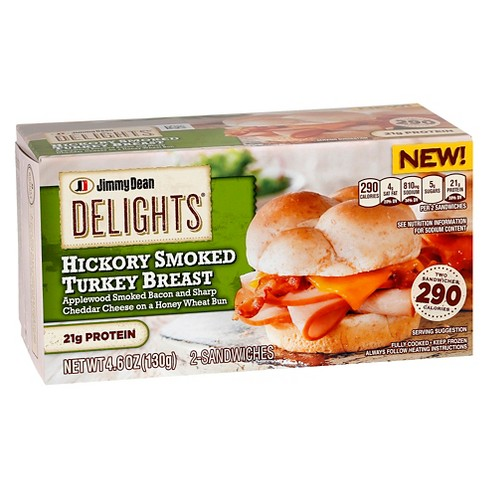 Jimmy Dean Delights Hickory Smoked Turkey Sandwich - 4.6oz - image 1 of 1