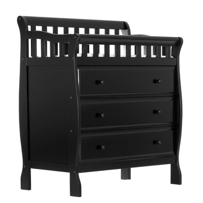 Dream On Me Marcus Changing Table and Dresser - Black