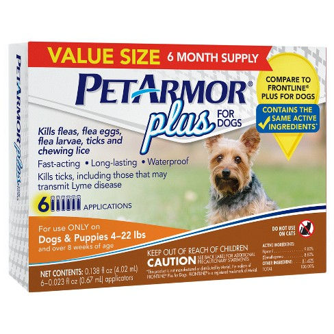 PetArmor® Plus Flea and Tick Topical Treatment for Dogs - image 1 of 1