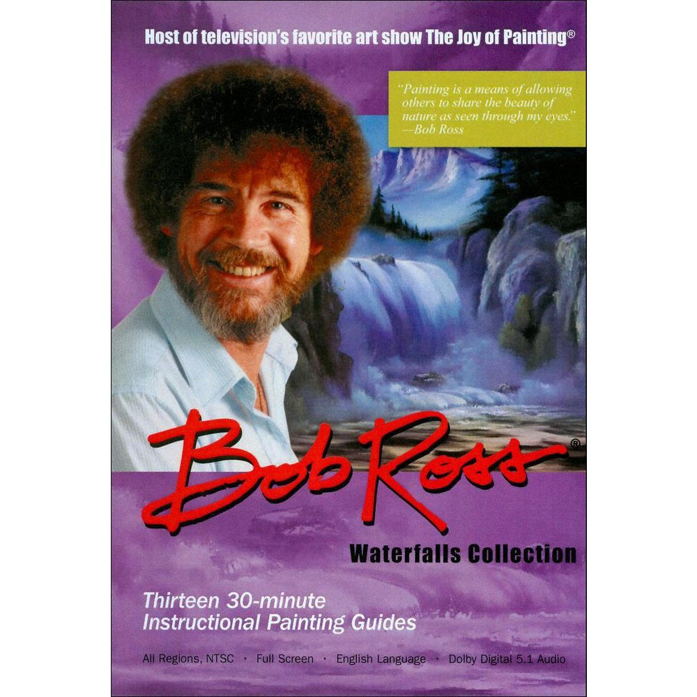 Joy Of Painting:Waterfalls Collection (Dvd)