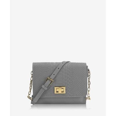 GiGi New York Gray Catie Crossbody Bag