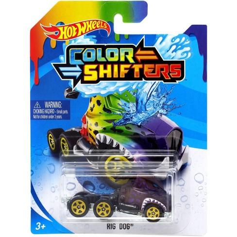Hot Wheels Color Shifters Rig Dog Die Cast Car Target