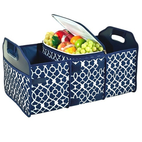 Picnic at Ascot Original Folding Trunk Organizer with Removable Cooler - Durable No Sag Design - image 1 of 4