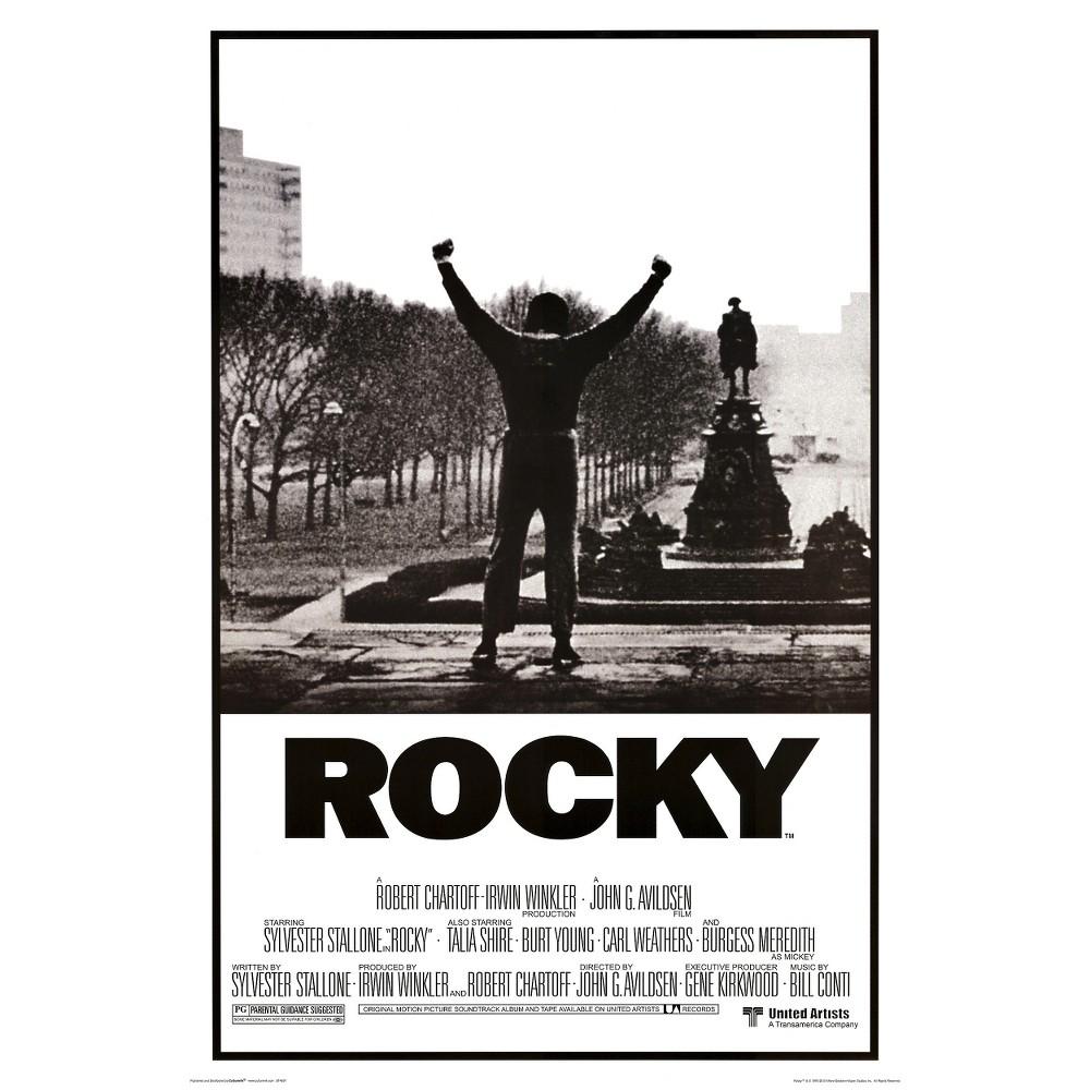 Art.com - Rocky - Movie Score Arms Up Poster