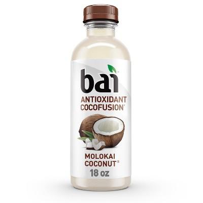 Bai Molokai Coconut Antioxidant Water - 18 fl oz Bottle