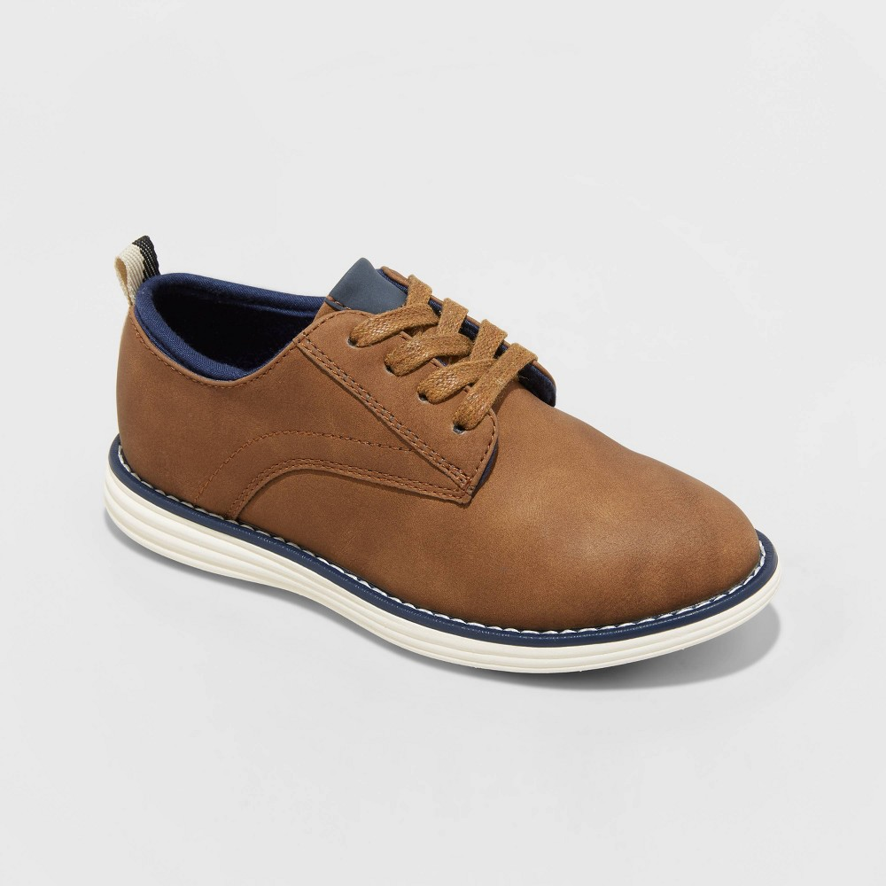 Boys 39 Franco Flats And Slip On Cat 38 Jack 8482 Brown 1
