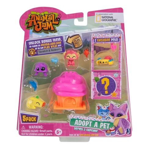 Animal Jam Adopt A Pet 5pk 4 Series 3 Target