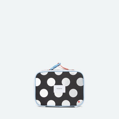 STATE Bags Kids' Metallic Rodgers Lunch Tote - Dots