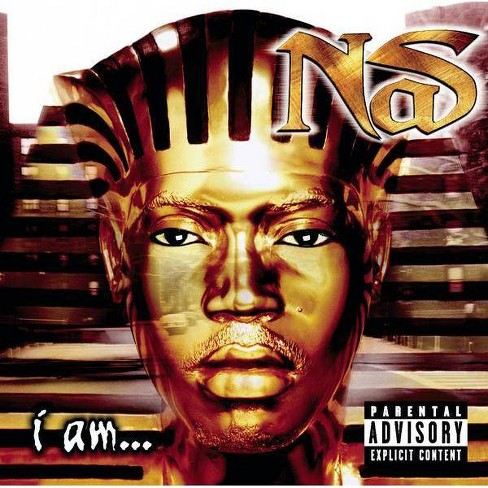 Nas - I Am (EXPLICIT LYRICS) (CD) - image 1 of 1