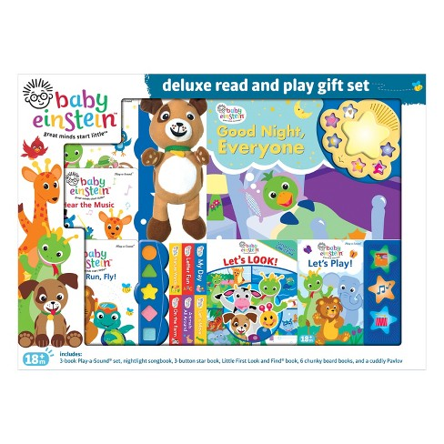 91d5a3a4cfd5 Baby Einstein Deluxe Read And Play Gift Set   Target