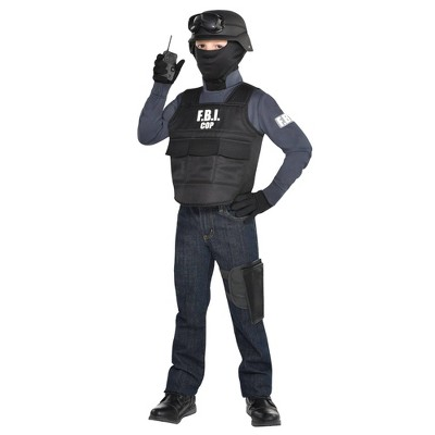 Kids' F.B.I. Cop Halloween Costume