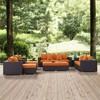 Convene 9pc Outdoor Patio Sofa Set - Modway - image 2 of 2